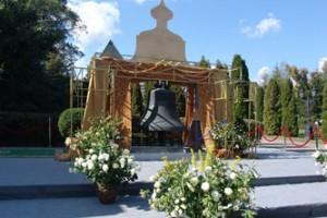 Освящение исторического колокола в Свято-Даниловом монастыре