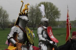 Рыцарский турнир в Коломенском