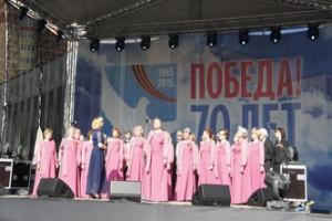 День Победы в подмосковной Ивантеевке