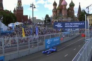 Формула-1 у стен Кремля