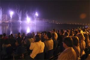 Фестиваль фейерверков Ростех в Москве.