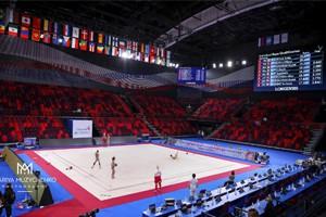 1-ый чемпионат мира по художественной гимнастике среди юниорок