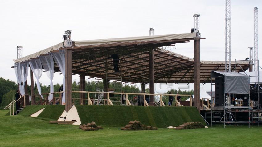 FLAT Roof – односкатная элеваторная крыша