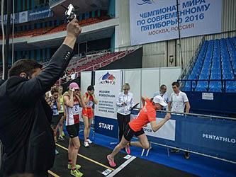 Пятиборье в Олимпийском