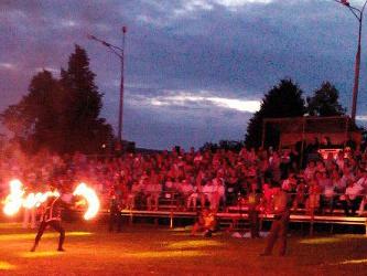 Открытие парка культуры и отдыха в поселке Уршельский