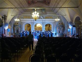 Концерт духовной музыки в Новодевичьем монастыре